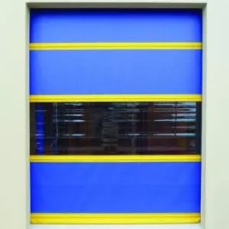 Commercial Vinyl Roll Up Doors are a low cost way to quickly enter and enter warehouse space.