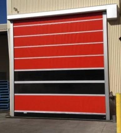 Plastic Roll Up Doors | Motorized Fabric Roll Up Door
