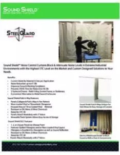 Sound Shield Noise Control Curtains