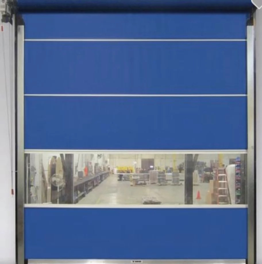 Manual Vinyl Roll Up Door | Industrial Roll Up Doors | Quick