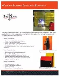Welding Curtains, Screens & Blankets Sell Sheet