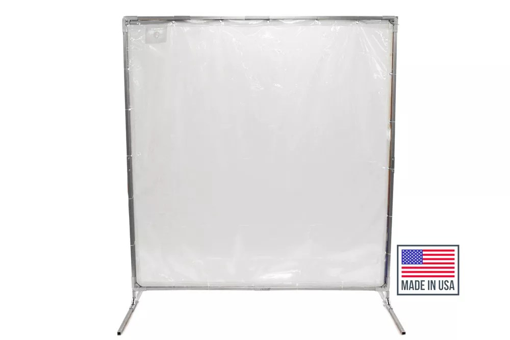 portable welding screens curtains