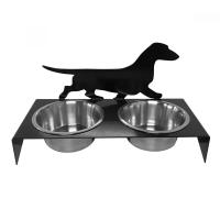 Dachshund Smooth Pet Bowl Stand Pet Food holder | eBay