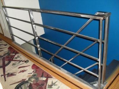 Fabricator Ny Pipe Tubular Steel Hand Railing Stair Railings | Tubular Stair Railings Design | Mid Century Modern | Simple | Home Tower | Welded | Creative