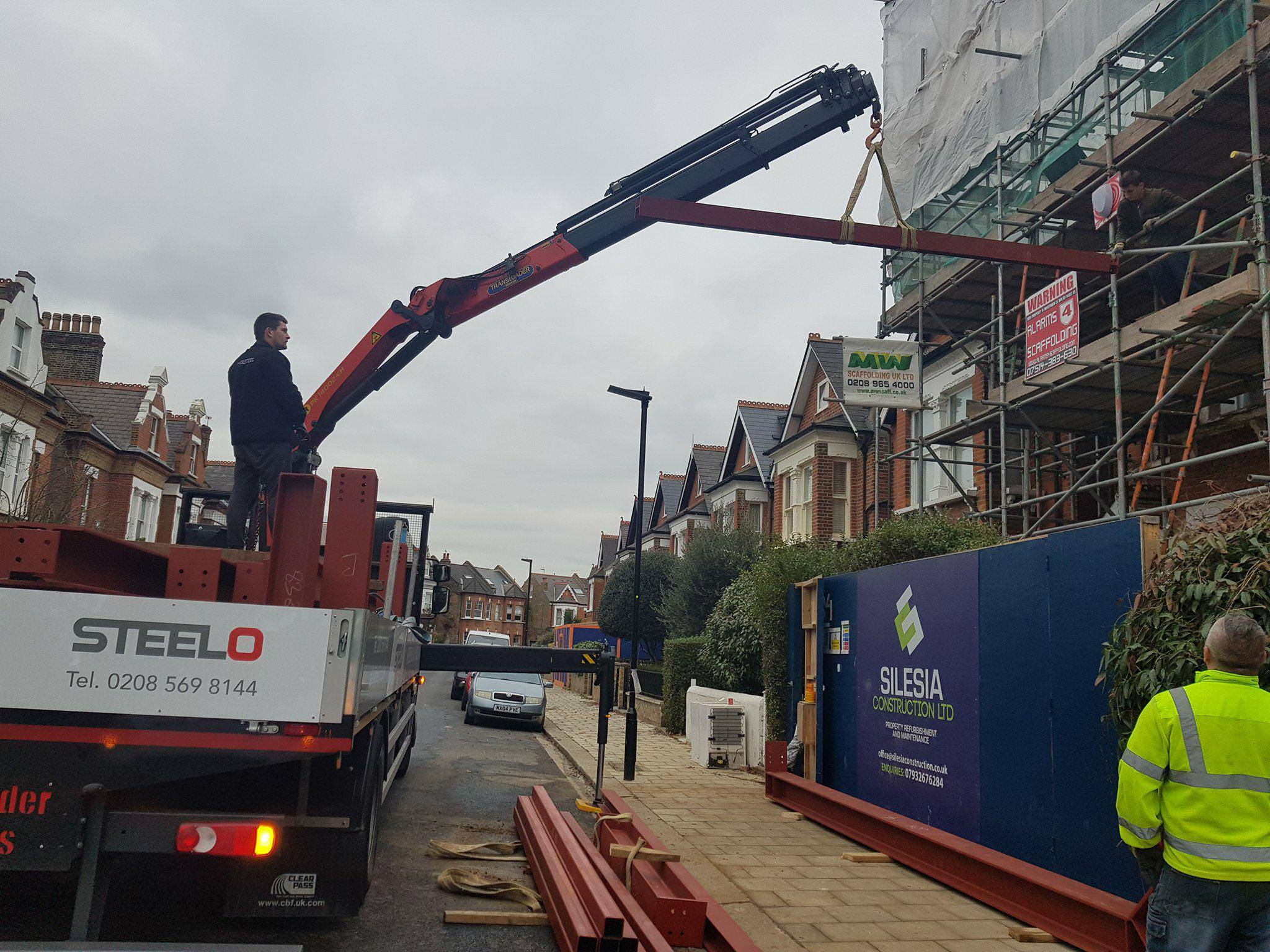 Gallery Steel Delivery London Structural Steel