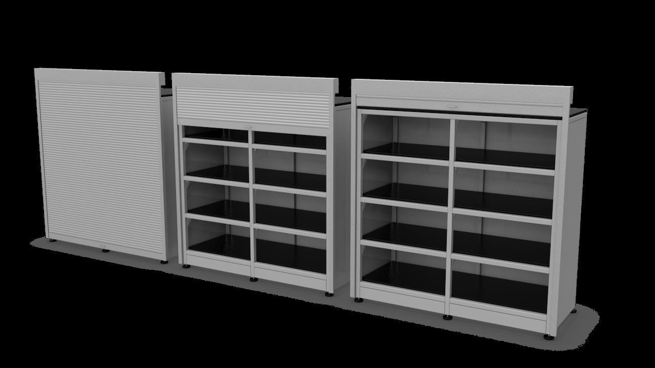 Heavy Duty RollUp Door Cabinet  SteelSentry