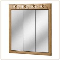 Large Mirrored Medicine Cabinet
