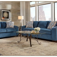 Rooms To Go Sleeper Chair Red Poang Navy Blue Living Room Set