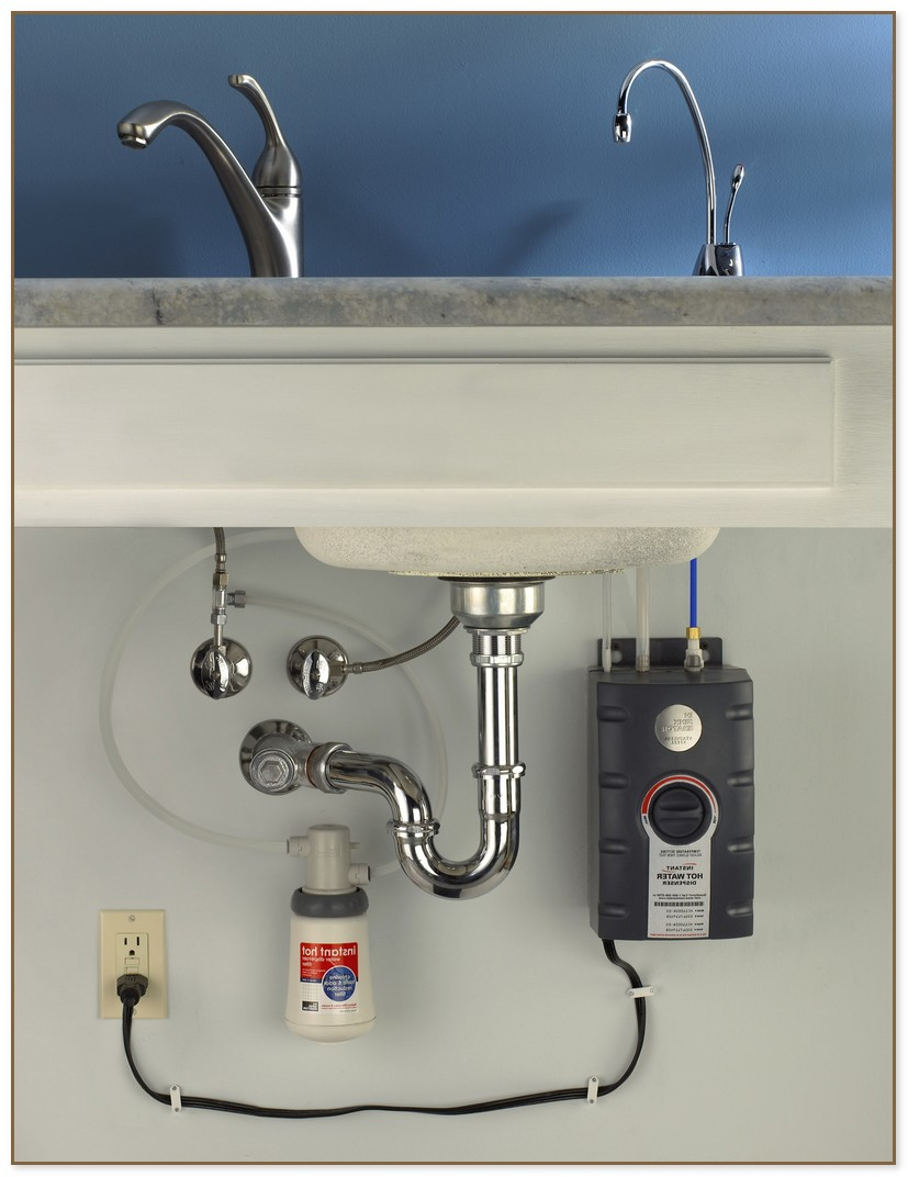 under sink hot water dispenser