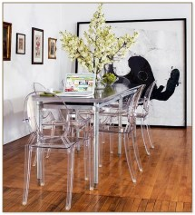 Narrow Dining Table Small Spaces