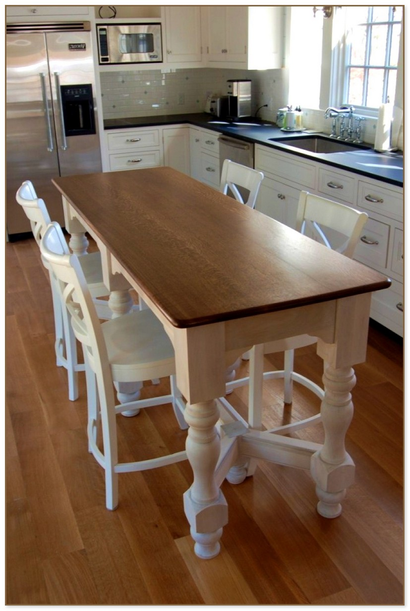 Narrow Rectangular Dining Table
