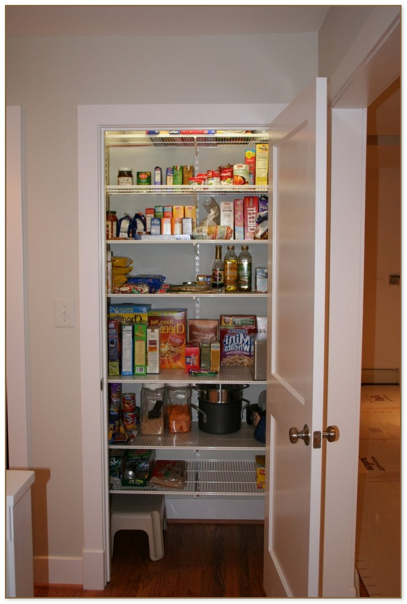 Walk In Pantry Designs
