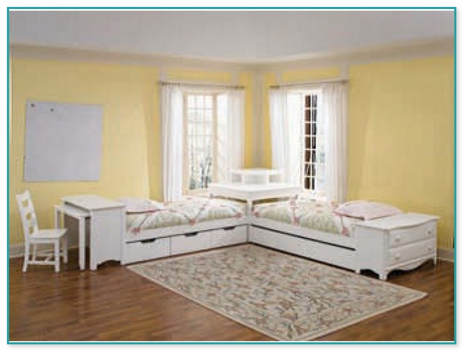 Corner Twin Bed Set