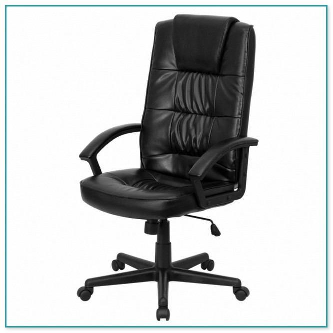 realspace fosner high back bonded leather chair gigatent camping with footrest waincliff executive black