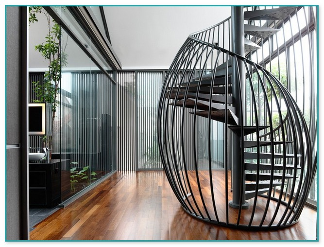 2 Story Spiral Staircase
