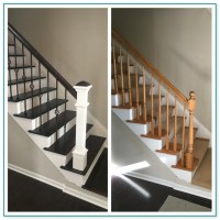 Replacing Spindles On Carpeted Stairs
