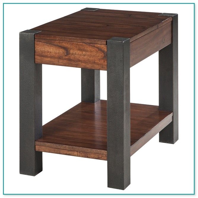 rugs for hardwood floors in kitchen non slip shoes black end table with charging station