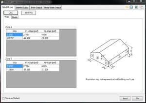 ASCE 7 Load Generator Wind Output