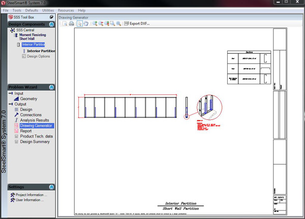 Layout Generator - Cold Formed Steel Design Software & Training