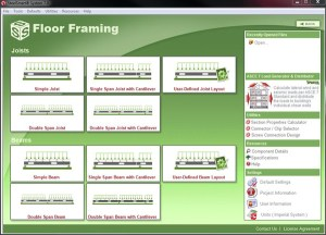 Floor Framing Software- Steel Smart System