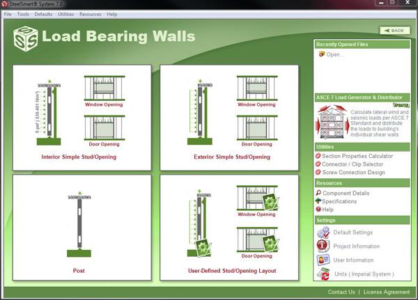 Load Bearing Cold Formed Steel Design Software Amp Training