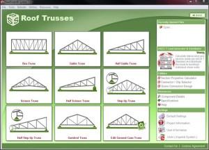 Light Steel Framing Roof Truss Design Software
