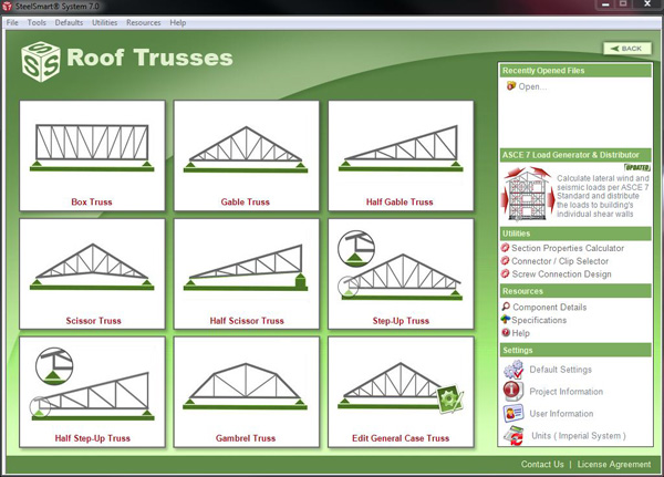 Roof Truss Cold Formed Steel Design Software Training