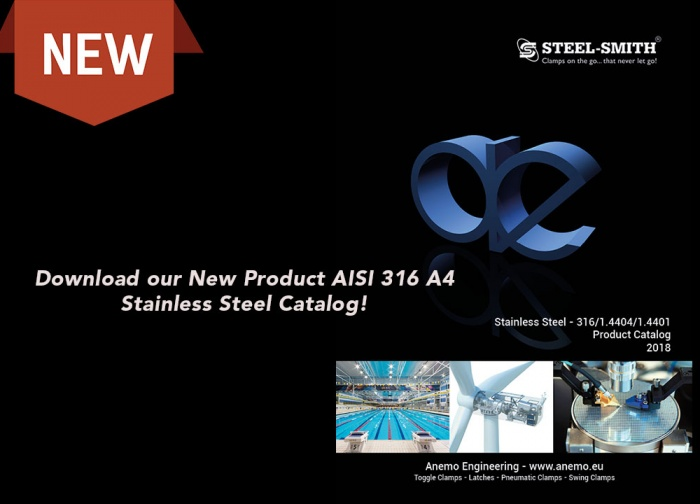 Download our Stainless Steel AISI 316 A4 Clamp Catalog
