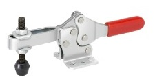 horizontal hold down action clamp