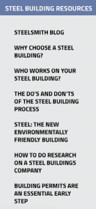 Steel Building Resources