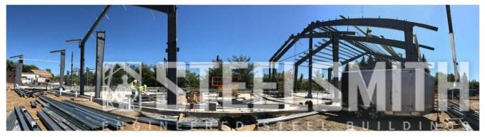 prefab steel building erectors