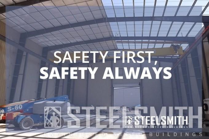steel erection site safety