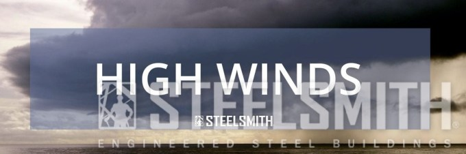 Steel buildings in high winds