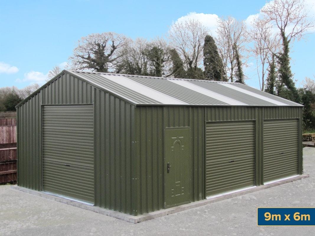 Garden Chalets Gallery  Steeltech Garden Sheds Ireland