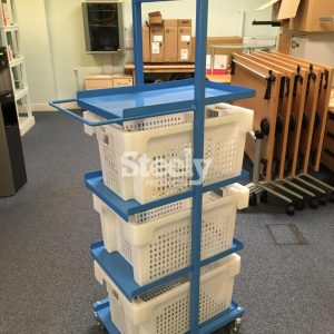 Compact Tote Box Trolley