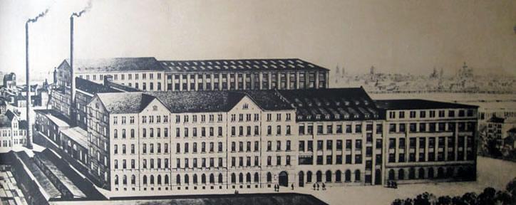 Oude fabriek van Grotrian Steinweg Piano's en Vleugels