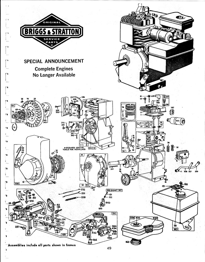 Briggs And Stratton Vanguard 18 Hp Diagram, Briggs, Free