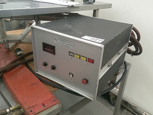 PPS Induction Power Supply Capsealer Steep Hill