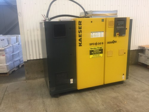 small resolution of 40hp kaeser air variable speed drive rotary screw compressor