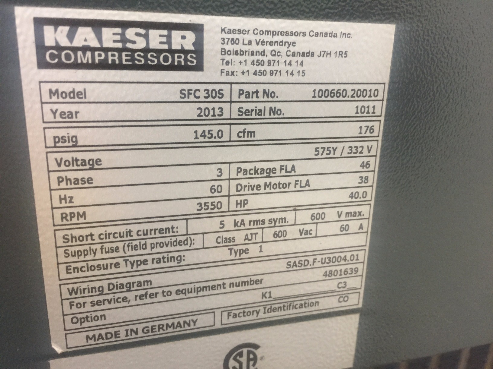 hight resolution of  kaeser air variable speed drive rotary screw compressor