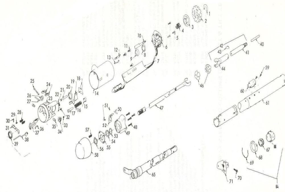 Service manual [2001 Cadillac Seville Tilt Steering Column