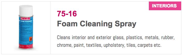 7516 Foam Cleaning Spray
