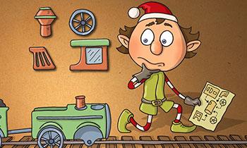 characterdesign-illustration-wichtel-spiel-puzzle-eisenbahn