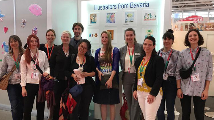 kinderbuchmesse-bologna-illustratoren-delegation-bayern