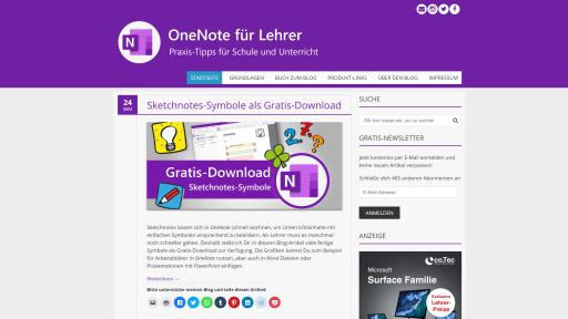 OneNote für Lehrer - Blog