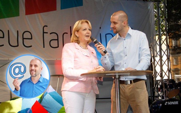 Stefan Malter im Interview mit Hannelore Kraft