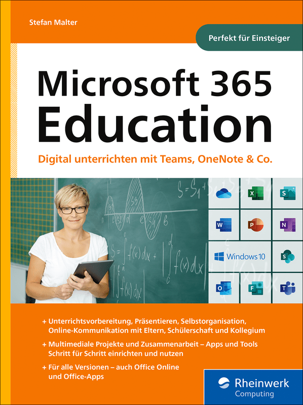 Microsoft 365 Education - Buchcover