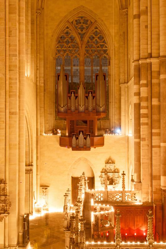 Nacht der Lichter im Dom Magdeburg  Stefan Deutsch