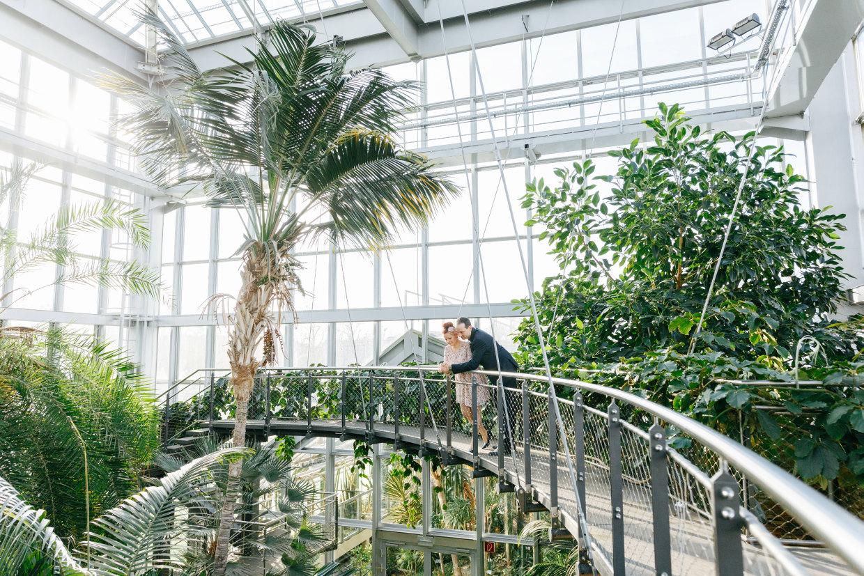 Hochzeitsshooting in den GrusonGewchshusern Magdeburg