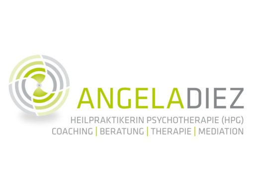 Angela Diez Coaching // Logo, Visitenkarte, Briefbogen, Flyer, Broschüre, Block